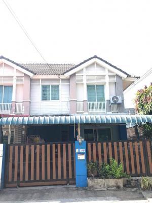 For RentTownhouseVipawadee, Don Mueang, Lak Si : Townhome for rent, Pruksa Ville 36, Songprapa, Don Muang, near Rangsit University.
