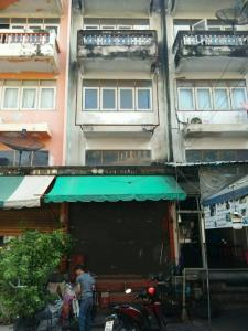 For RentShophouseRathburana, Suksawat : HB-2020-0176 Commercial building for rent, 4 floors, 16 sq m., Trading location, Thung Khru Temple, Pracha Uthit 109.