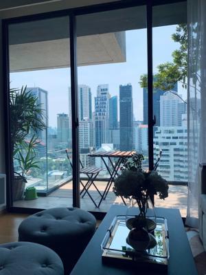 เช่าคอนโดสุขุมวิท อโศก ทองหล่อ : Siamese exclusive sukhumvit31 2 bedrooms for rent with unblock view near BTS Phromphong