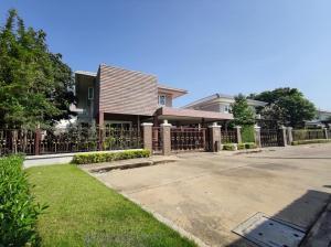 ขายบ้านนครปฐม พุทธมณฑล ศาลายา : หมู่บ้านศุภาลัยพรีม่าวิลล่า พุทธมณฑลสาย3  ติดถนนใหญ่ บ้านสวย หลังมุม ร่มรื่นมาก