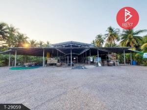 For RentFactorySamut Songkhram : Factory for rent on the road, area 3 rai, Amphawa, Samut Songkhram