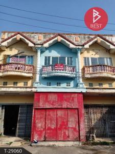 For SaleShophouseNakhon Sawan : Commercial building for sale, nine turns, Nakhon Sawan, one shophouse, nine turns Asian market