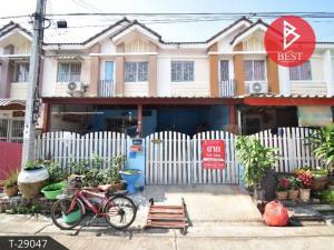 For SaleTownhouseSamrong, Samut Prakan : Townhouse for sale Pruksa Village 56 Suksawat - Ring Road, Samut Prakan