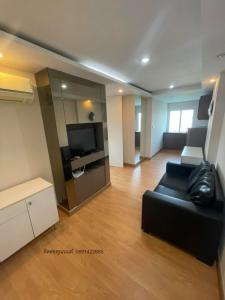 For SaleCondoRatchadapisek, Huaikwang, Suttisan : Urgent sale Happy condo Ratchada 18, 1 bedroom, corner room, built-in, fully furnished