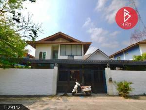 For SaleHousePattaya, Bangsaen, Chonburi : House for sale The Lavender Village, Sriracha, Chonburi