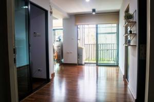 For SaleCondoBangna, Lasalle, Bearing : Selling very cheap !! Big room !! 46 sqm 2 bedrooms G Haus Condo Sukhumvit 109 (Santikham 4) BTS Bearing.