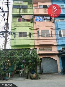 For SaleShophouseSamrong, Samut Prakan : Commercial building for sale (Soi Wong Phaet) Bang Phli Yai, Bang Phli, Samut Prakan
