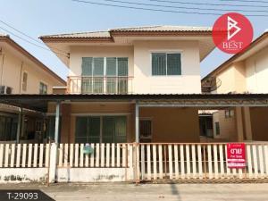 For SaleHouseChachoengsao : House for sale, Pho Ville, Chachoengsao