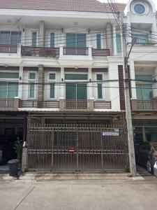 For RentHome OfficeKaset Nawamin,Ladplakao : 3-storey home office for rent, next to the express road, Ekamai, Ramindra, Premium Place 3, Nuanchan