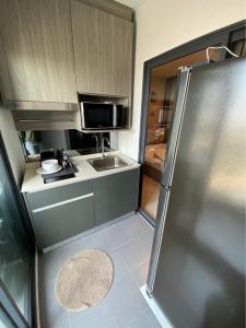 เช่าคอนโดท่าพระ ตลาดพลู : ให้เช่า 1 ห้องนอน พร้อมอยู่ - Rent 1 Bedroom Ready to move in !!