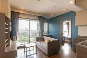 เช่าคอนโดวงเวียนใหญ่ เจริญนคร : ให้เช่า Teal Sathorn-Taksin BTS วงเวียนใหญ่ 34.5 ตรม 1 ห้องนอน แต่งสวย วิวเมืองและแม่น้ำ ราคาพิเศษ