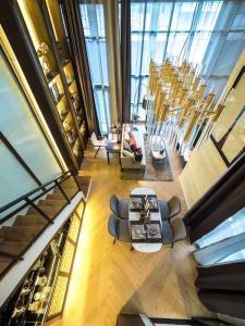 ขายดาวน์คอนโดบางซื่อ วงศ์สว่าง เตาปูน : ขายดาวน์ Modiz Collection Bangpho ห้อง Vertical Suite วิวแม่น้ำ 42.30 ตร.ม.