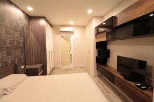 For RentCondoSathorn, Narathiwat : Condo for rent, Centric Sathorn St. Louis 1Bed, special floor plan, 39 sq m, fully furnished.