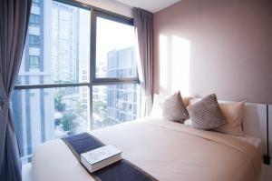 For RentCondoOnnut, Udomsuk : Condo Ideo Mobi Sukhumvit 81 @BTS Onnut, 63 sq.m 2 Beds 2 Baths Duplex 4-5 floor Nice View, Fully furnished