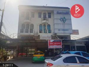 For SaleShophouseRangsit, Patumtani : Urgent sale, commercial building, Khlong 2, Lam Luk Ka, Pathum Thani.