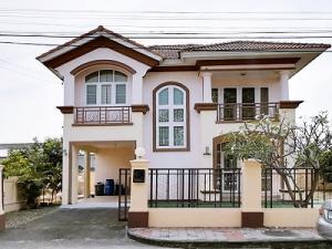 เช่าบ้านมีนบุรี-ร่มเกล้า : ขาย / เช่า | บ้านเดี่ยว 2 ชั้น หมู่บ้าน ภัสสร 10 เดอะ เพรสทีจ สุวินทวงศ์ 21 ใกล้สนามบินสุวรรณภูมิ✈️