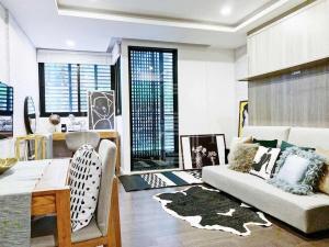 เช่าคอนโดนานา : For Rent Circle Rein Sukhumvit 12 (31 sqm.)