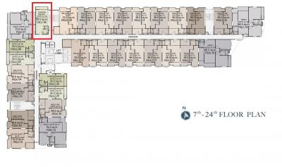 Sale DownCondoWongwianyai, Charoennakor : เจ้าของขายเอง ขายดาวน์ คอนโด ศุภาลัย พรีเมียร์ เจริญนคร ชั้นสูง ห้องสวย