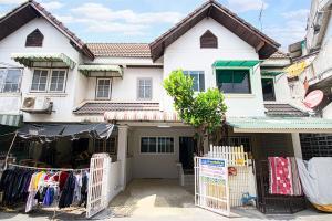 For SaleTownhouseRama5, Ratchapruek, Bangkruai : 2-storey townhome, Thanakorn Village, Bang Kruai, good location, near the expressway