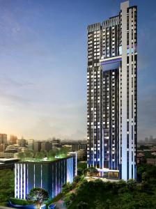 For RentCondoSukhumvit, Asoke, Thonglor : EDGE SUKHUMVIT 23  –  MRT Sukhumvit  200 meters  – Unit 42.5 Sq.m 11736