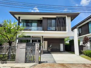 For SaleHouseSamrong, Samut Prakan : Manthana Srinakarin-Bangna for sale Big beautiful house Good condition, ready to move in