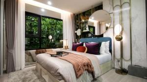 For SaleCondoSamrong, Samut Prakan : ⚡Hot Deal⚡ Condo Aspire Erawan Prime, next to BTS, 1 bedroom, 32 sqm., Book only 1,999 baht 📞Tel: 065-9863109