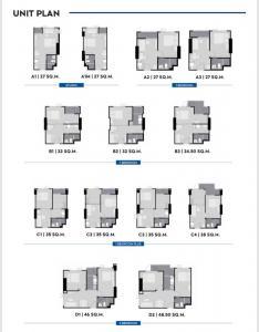 Sale DownCondoSamrong, Samut Prakan : Sale down payment 17th floor aspire erawan prime