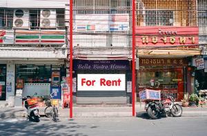 For RentShophouseSathorn, Narathiwat : Commercial building for rent, good location, Si Phraya Road, Charoenkrung 30.