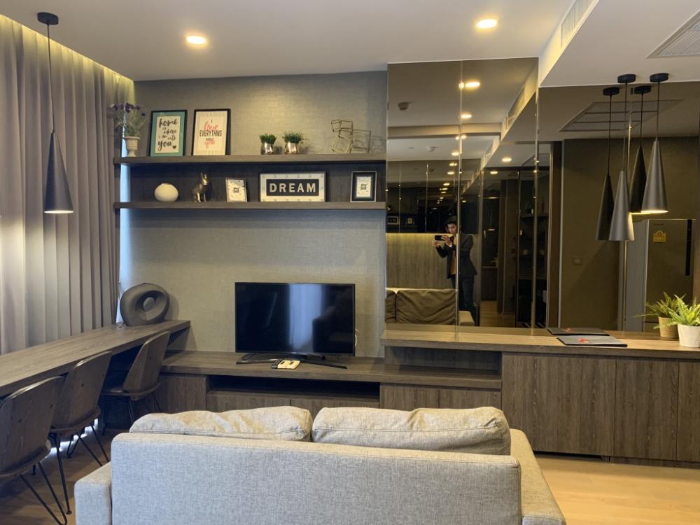For RentCondoSiam Paragon ,Chulalongkorn,Samyan : 🔥Available 🔥 Ashton Chula-Silom, beautiful room, good view, fully furnished, ready to move in 095-249-7892