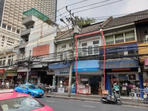 เช่าตึกแถว อาคารพาณิชย์สีลม ศาลาแดง บางรัก : ให้เช่าอาคารพาณิชย์ 4 ชั้น เยื้องกับโรบินสันบางรัก ริมถนนเจริญกรุง ทำเลทอง เหมาะเปิดร้านค้าทุกประเภท!!