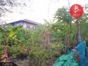 For SaleLandSamrong, Samut Prakan : Land for sale, area 100.0 square meters, Soi Sudchai Praeksa, Samut Prakan.