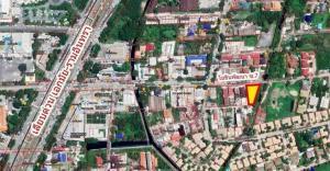 For SaleLandYothinpattana,CDC : Land for sale in Soi Yothin Phatthana 7, size 238 sq m. Beautiful plot along the Ekamai-Ramindra Expressway. (Pradit Manutham Road) Bangkapi, Bangkok