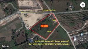 For SaleLandPattaya, Bangsaen, Chonburi : Land for sale in Map Pong, Phan Thong, Chonburi, area of 10 rai, 2.1 million each.