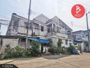 For SaleTownhouseMahachai Samut Sakhon : Townhouse for sale Benjasap Village, Nakhon Khok Kham, Samut Sakhon