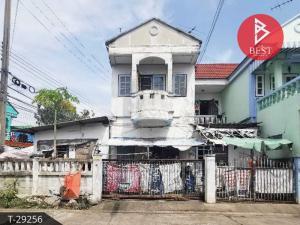 For SaleTownhouseMahachai Samut Sakhon : Quick sale townhouse. Benjasap Village, Nakhon Khok Kham, Samut Sakhon
