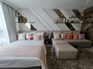 ขายคอนโดอ่อนนุช อุดมสุข : 📍ฟรีจองเมื่อติดต่อทีมขาย onlineเท่านั้น📍ขาย Elio Del Nest Udomsuk(เอลลิโอ เดล เนสท์) ห้องใหม่ ขนาด 26 ตรม  studio / 1 bedroom