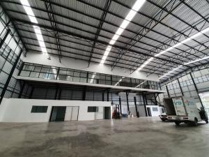 For RentWarehouseYothinpattana,CDC : RK037 Warehouse and land office for rent 290 sq.w. 1,300 sq m, ready to use, Ramindra 51