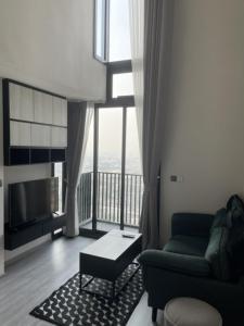For RentCondoOnnut, Udomsuk : For rent: The Line Sukhumvit 101, Duplex room, river view ✨