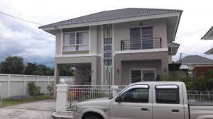 For SaleHouseChiang Mai : H02RI House for sale Kan Kanok Ville 11 San Na Meng, new condition.