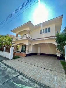 For SaleHouseChiang Mai : 2-storey detached house, San Kamphaeng (Bo Sang), Siwalai Village, 4 beautiful houses, good location, good security system.