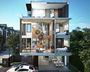 ขายบ้านอ่อนนุช อุดมสุข : ขาย ไอเด็น บ้านเดี่ยว สไตล์ Modern Elegance แบบ 5 ห้องนอน 7 ห้องน้ำ