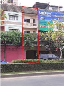 ขายตึกแถว อาคารพาณิชย์อ่อนนุช อุดมสุข : BH846 ให้เช่า อาคารพาณิชย์ 3.5ชั้น  ติดถนนใหญ่ สุขุมวิท77 หรืออ่อนนุช55-1 พัฒนาการ-อ่อนนุช ตัดใหม่ เขตสวนหลวง ราคาเช่า 20,000บ./เดือน ขาย7,000,000บ.-