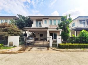 For SaleHouseOnnut, Udomsuk : House for sale, Manthana Village, On Nut-Ring Road 3, 51.6 sq.wa., 3 bedrooms, 3 bathrooms, Dokmai Subdistrict, Prawet District, Bangkok