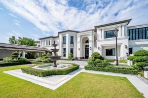 ขายบ้านพัฒนาการ ศรีนครินทร์ : ขายบ้านแสนสิริ พัฒนาการ บ้านเดี่ยวหรูสไตล์อังกฤษ พร้อมสระว่ายน้ำ บนที่ดินขนาดใหญ่