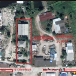 For SaleFactoryPattaya, Bangsaen, Chonburi : Land for sale in Mueang Chon Buri with factory 2-0-59 rai