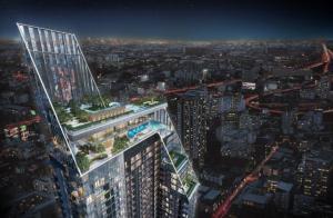 For SaleCondoRatchathewi,Phayathai : New condo for sale, The extro @ Rang Nam, super luxury condo.