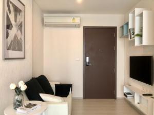 For SaleCondoRama9, RCA, Petchaburi : For rent, RHYTHM Asoke, corner room, 30+ floors, fully furnished, the best view
