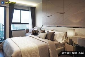 For RentCondoOnnut, Udomsuk : Condo for rent, Built-in, Ideo Sukhumvit 93, 25 sq m. Fully furnished.