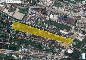 For SaleLandLadkrabang, Suwannaphum Airport : Beautiful vacant land for sale, Lat Krabang, next to the road, area 60-1-42 rai 395 MB. Free transfer !!