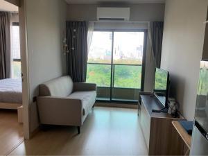 For RentCondoRama9, RCA, Petchaburi : Lumpini Suite Phetchaburi-Makkasan, 1 bedroom / 1 bathroom, size 27 sq.m., floor 12A, price 11,000 baht
